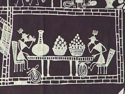 Warli for kids mitra verma warli art belongs to maharashtra and is the simplest form of folk art that kids can draw it is visually very effective so anyone drawing a warli scene altavistaventures Image collections